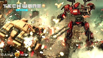 Онлайн-игра TechWars