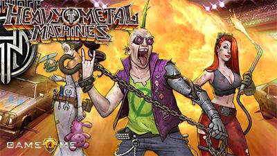 игра Heavy Metal Machines