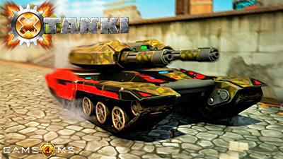онлайн игра Tanki X