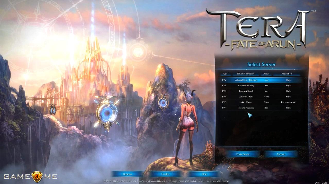 Скачать русский сервер tera online